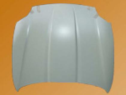 Capot aluminium