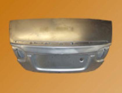 Coffre arr. aluminium cabriolet