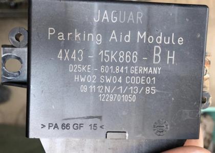 Parking Aid module ( AV/AR) 4X43-15K866