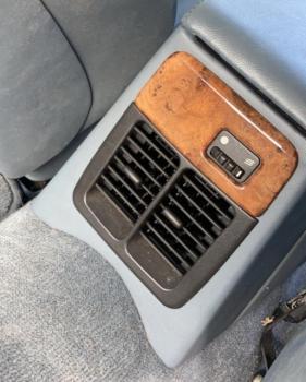 Grade do ventilador (central traseira) GNC7890AA