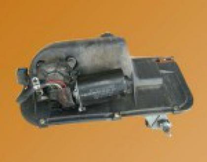 Mecanisme d'essuie-glace avec moteur LHD